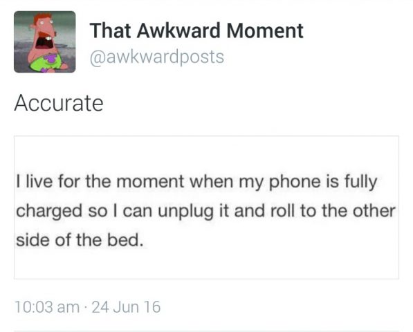 Twitter awkward posts