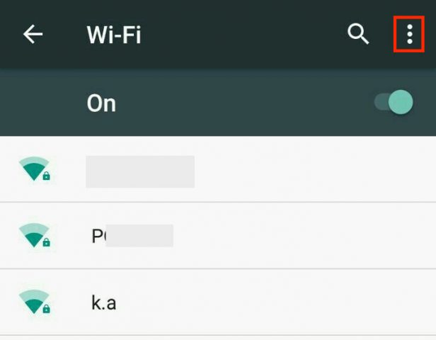wifi options