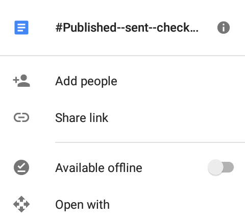google drive add new people