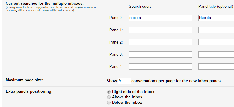 google labs multiple inboxes