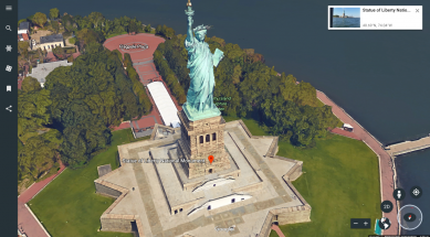 View Angle on Google Earth
