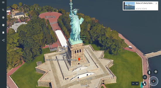 Useful Features in New Google Earth