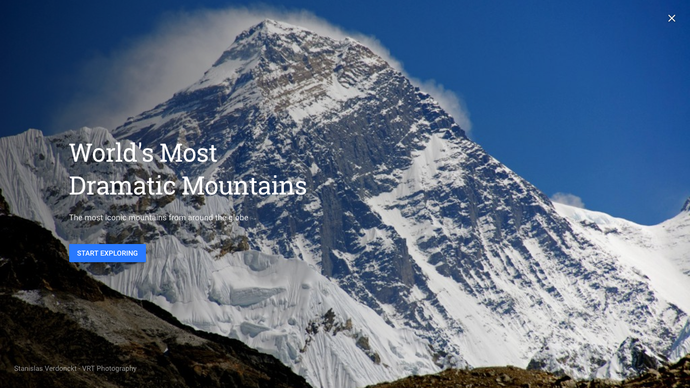 Google Earth Most Dramatic Mountains
