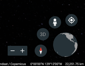 Google Earth Controls